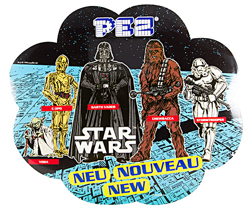 PEZ - Stickers - Balloon Sticker - Star Wars