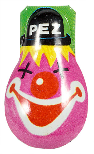 PEZ - Clickers - Clown with Hat