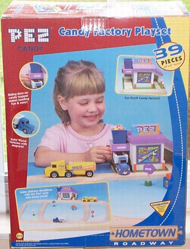 PEZ - Miscellaneous (Non-Dispenser) - Candy Factory Playset