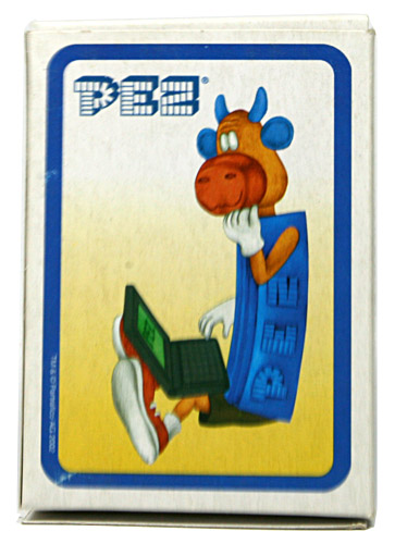 PEZ - American Distribution Company - PEZ Playing Cards - Cow