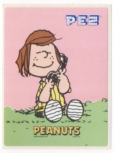 PEZ - Stickers - Peanuts - Peppermint Patty