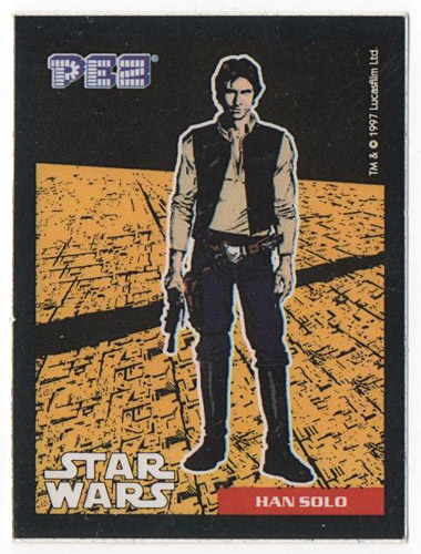 PEZ - Stickers - Star Wars - Han Solo