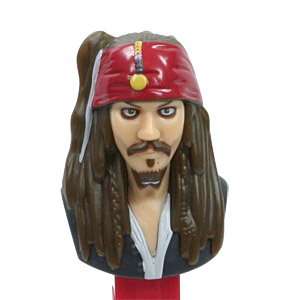 PEZ - Disney Movies - Pirates of the Carribean - Jack Sparrow