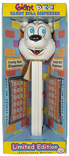 PEZ - Giant PEZ - Christmas - Polar Bear - A