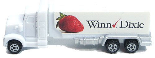 PEZ - Advertising Winn. Dixie - Truck - White cab