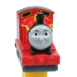 PEZ - Thomas and Friends - James - Red #5