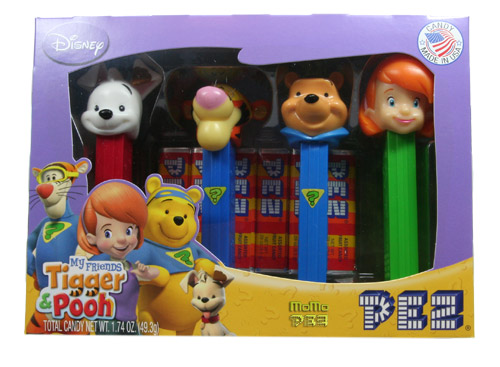 PEZ - Winnie the Pooh - My Friends Tigger & Pooh - Winnie the Pooh Collectors Set
