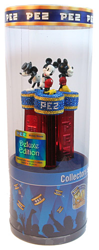 PEZ - Collectors Set - Mickey Mouse - Deluxe Edition