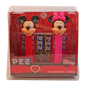 PEZ - Valentines Gift Set - Mickey & Minnie Gift Set