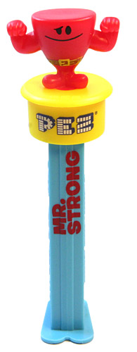 PEZ - Mr. Men - Click'n'Play - Mr. Strong