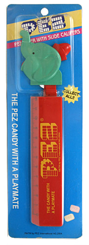 PEZ - Rulers - Rulers with Slide Calipers - Elephant