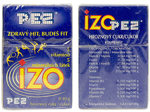 PEZ - Dextrose Packs - IZO 5 sportsmen - A