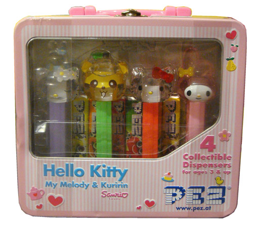 PEZ - Hello Kitty - Crystal Collection - Tin set - B1