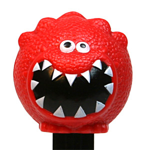 PEZ - Charity - Red Nose Day - Dino Dinomite