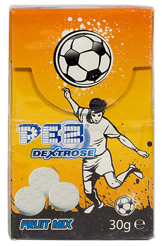 PEZ - Dextrose Packs - Soccer Player