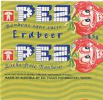 PEZ - Smiling Fruit Sugarfree Strawberry SF-A 06