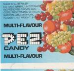 PEZ - Fruit Multi-Flavor F-A 07