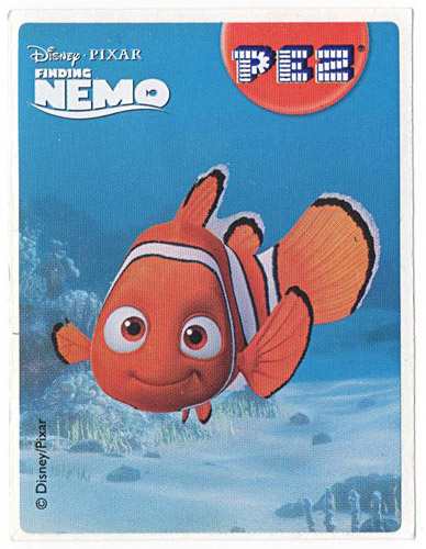 PEZ - Stickers - Nemo - Nemo smiling