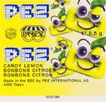 PEZ - Candy Face Lemon CF-A 09