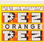 PEZ - Star B Orange B-A 01.2