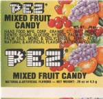 PEZ - Fruit Mixed Fruit F-US 03