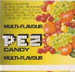 PEZ - Fruit Multi-Flavor F-A 09