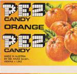 PEZ - Fruit Orange F-A 10