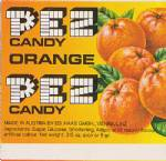 PEZ - Fruit Orange F-A 11