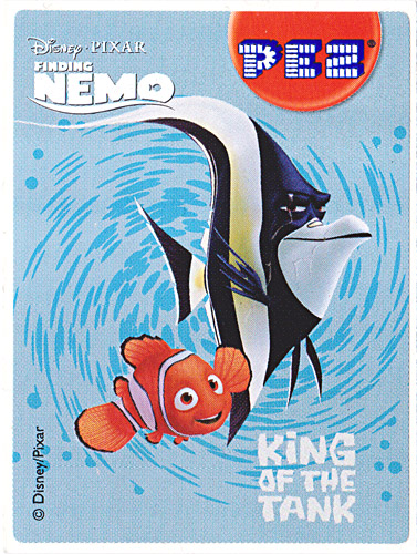 PEZ - Stickers - Nemo - King of the tank