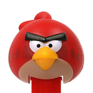 PEZ - Animated Movies and Series - Angry Birds - Red Bird - A