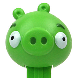 PEZ - Animated Movies and Series - Angry Birds - Pig