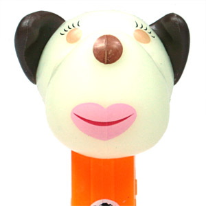 PEZ - AWL / SOS - Halloween 2013 - Barkina - White GITD Head