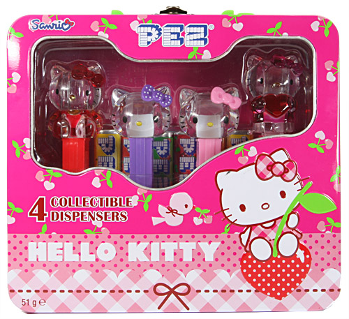 PEZ - Hello Kitty - Crystal Collection - Tin set - G1