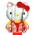 PEZ - Hello Kitty in Overalls  Crystal, yellow sleeves