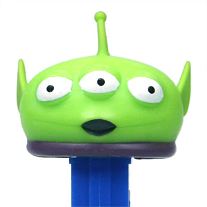 PEZ - Disney Movies - Toy Story - Squeeze Toy Alien
