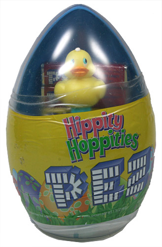 PEZ - Easter - Gift Egg - Duck - Yellow - A
