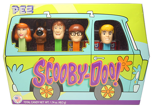 PEZ - Animated Movies and Series - Scooby Doo - Collectors Set