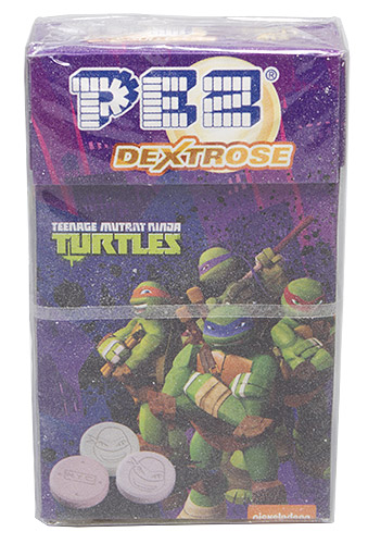PEZ - Dextrose Packs - Teenage Mutant Ninja Turtles