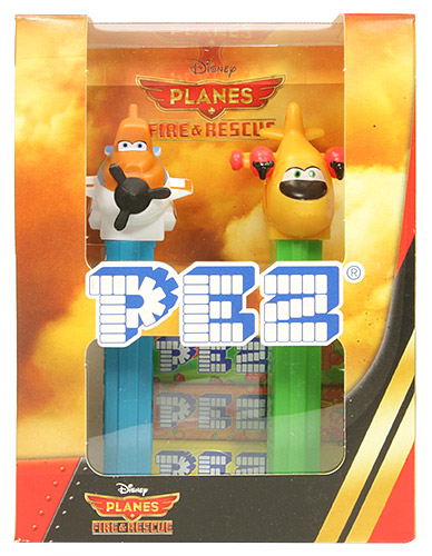 PEZ - Planes - Planes 2 - Dusty B and Lil' Dipper Twinpack