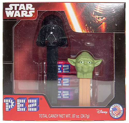 PEZ - Limited Edition - Twin Pack - Darth Vader B & Yoda B
