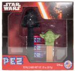 PEZ - Twin Pack  Darth Vader B & Yoda B