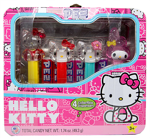 PEZ - Hello Kitty - Tin set - I