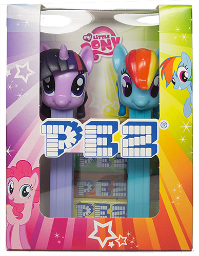 PEZ - My little Pony - My Little Pony Twin Pack