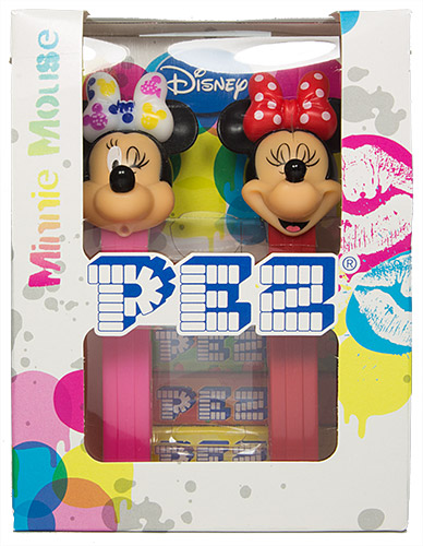 PEZ - Bowtique - 2014 - Minnie Mouse Twinpack mickey bow polka dot - E