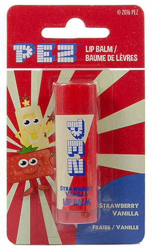 PEZ - Lip Balm - Euro 2016 - Lip Balm - Strawberry Vanilla