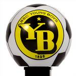 PEZ - Young Boys Bern   on black SEIT 1898 on yellow stem