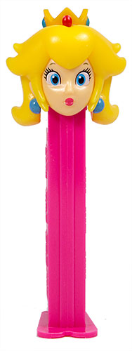 PEZ - Animated Movies and Series - Nintendo - Princess Peach