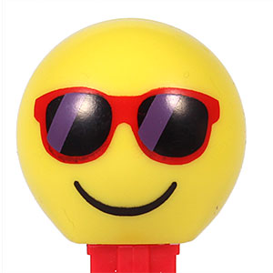 PEZ - Funky Faces - Emoji - Chillin' - US Release 2017