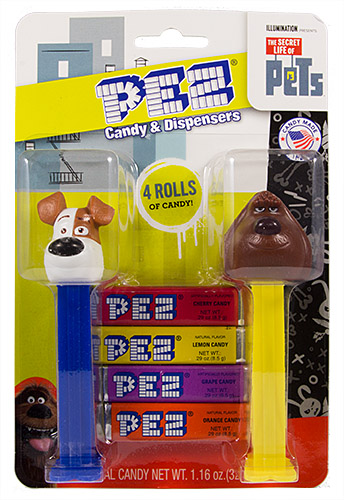 PEZ - The Secret Life of Pets - Secret Life of Pets Double Pack Max & Duke