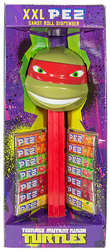 PEZ - Giant PEZ - Teenage Mutant Ninja Turtles - Raphael - green